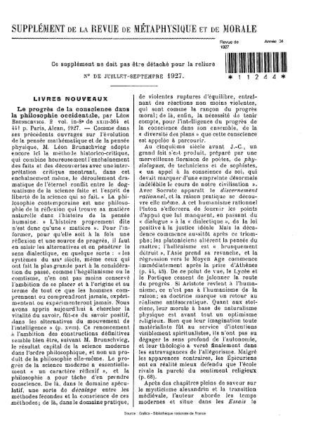 File:Revue de métaphysique et de morale, juillet-septembre 1927.djvu