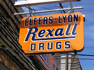 Rexall Chain of drugstores