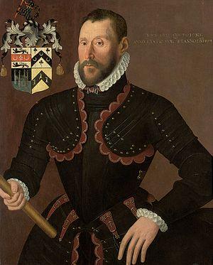 Goodricke baronets - Richard Goodricke (1524–1581/2) in 1574 by an unknown artist.