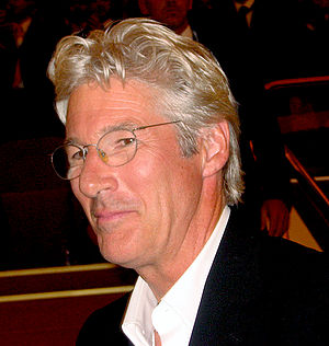 Richard Gere - Gere in Venice, Italy in October 2007.