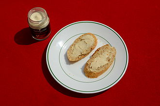 Ricotta - Ricotta forte is a very soft variety from Apulia sold in jars.