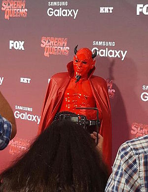 Riley Schmidt - Image: Riley Schmidt as Red Devil on the Red Carpet