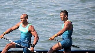 Canoe sprint - Image: Rio 2016. Canoagem de velocidade Canoe sprint (28529187903)