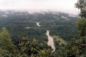Serra do Divisor National Park - Image: Rio moa