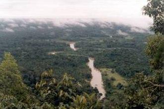 Môa River - Môa River in the Serra do Divisor National Park