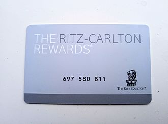 The Ritz-Carlton Hotel Company - The Ritz-Carlton Rewards membership card