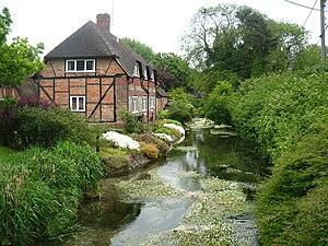 River Lambourn - River Lambourn, East Garston, Berkshire