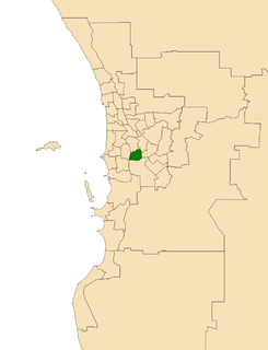 Electoral district of Riverton state electoral district of Western Australia