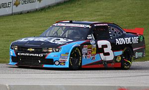 Austin Dillon - 2013 championship car at Road America