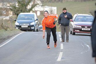 Irish road bowling - Image: Road Bowling