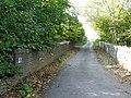 Road bridge over the old Cheltenham to Banbury line, on the Harford road. - geograph.org.uk - 1556284.jpg