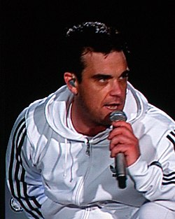 Robbie Williams in concerto a Vienna