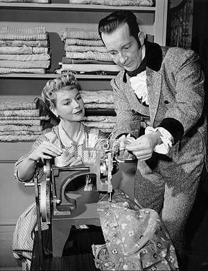 Robert Cornthwaite (actor) - Cornthwaite and Nan Leslie in an episode of The Californians, 1958