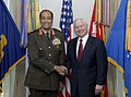 Robert M. Gates with Mohamed Hussein Tantawi, 080325-N-2855B-020 0ZEVF.jpg