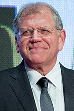 Photo of Robert Zemeckis at the 2015 Tokyo International Film Festival.