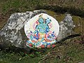 Rock painting on Holy Isle - geograph.org.uk - 1290442.jpg