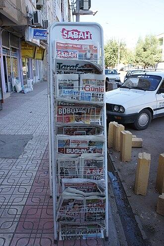 Sabah (newspaper) - Image: Rojname Bismil 2010