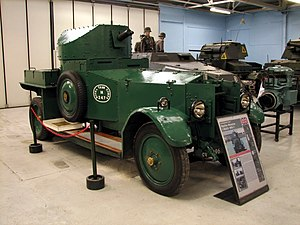 North Irish Horse - Rolls-Royce Armoured Car