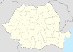 Călățele is located in Romania