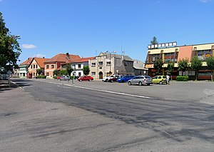 Ronov nad Doubravou - Chitussi square