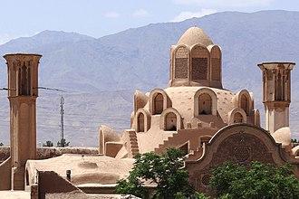 Borujerdi House - Image: Roof of the Borujerdi House, Kashan