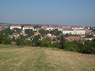 Rosice Town in South Moravian, Czech Republic
