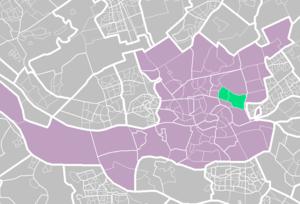 Kralingen - Image: Rotterdamse wijken kralingen