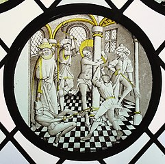 Roundel with the Flagellation