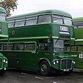 Routemaster coach RMC1461 (461 CLT), Cobham Bus Museum running day, 26 October 2008.jpg