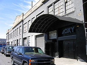 Roxy NYC - Exterior of Roxy