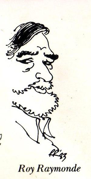 Roy Raymonde - Self-caricature, 1983