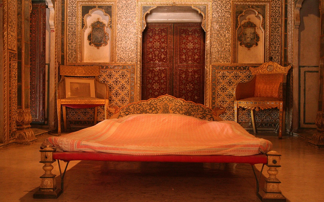 File Royal Bedroom At Chandra Mahal Junagarh Fort