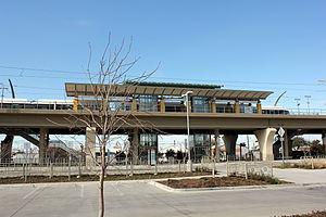 Royal Lane station - Image: Royal Lane (DART station)