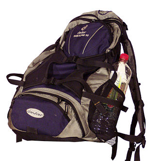 Hiking equipment - Day pack, or ultralight multi-day backpack