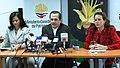 Rueda de prensa conjunta del Canciller Patiño y las Ministras Espinosa y Aguiñaga, sobre los resultados de la COP 16 en Cancún (5258564520).jpg