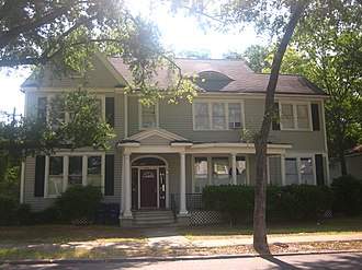 Ruffin Pleasant - Pleasant Hill, the historic home of Governor and Mrs. Pleasant in the Highlands section of Shreveport