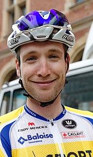 Thomas Sprengers Belgian cyclist