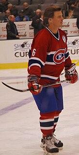 Russ Courtnall Canadian former ice hockey player