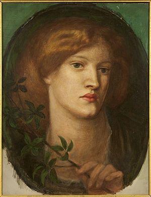 Ruth Herbert - Louisa Ruth Herbert, portrait by Dante Gabriel Rossetti