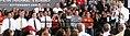 Ryan siblings sit and watch him speak at Carroll University in Waukesha. (8091037934).jpg