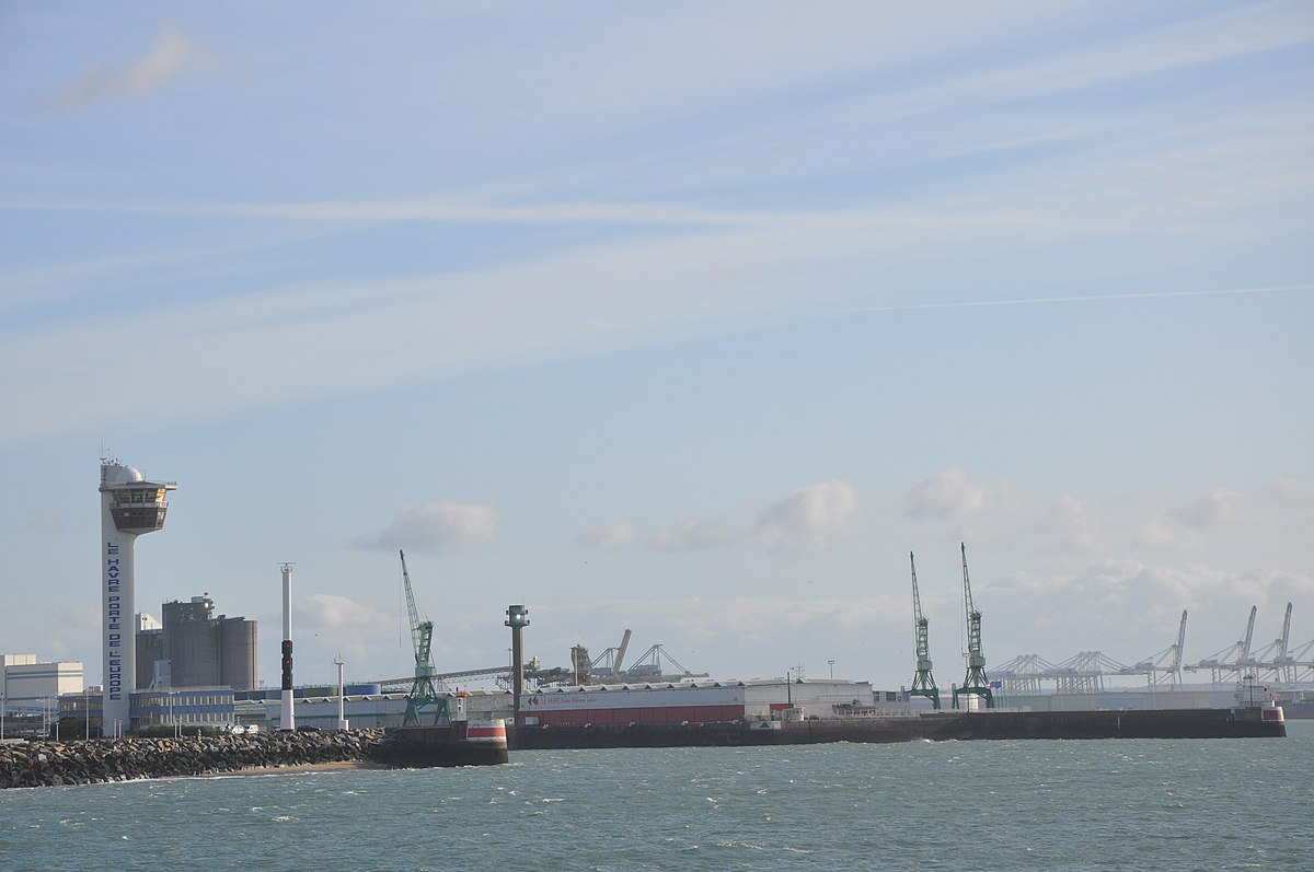 Port of le havre wikipedia - Location utilitaire le havre ...