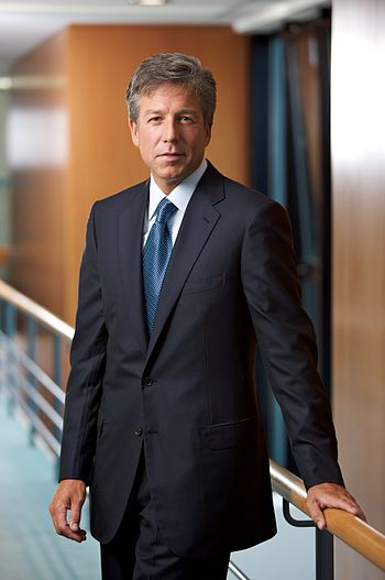 English: Bill McDermott, SAP AG Co-CEO and Exe...