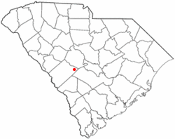 Location of Perry, South Carolina