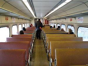 Silverliner - Image: SEPTA 9016 inside mod