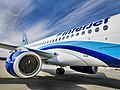 SSJ100 for Interjet - Painting the livery (8465014924).jpg