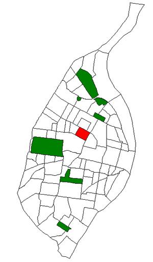 Vandeventer, St. Louis - Image: STL Neighborhood Map 58