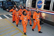 STS-116 Boarding (NASA STS116-S-006) 2006-Dec-09