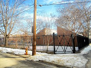 Bethel Burial Ground - Southwest corner of Weccacoe Playground, which covers the burial ground
