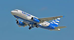 Ellinair - Ellinair Airbus A319-100