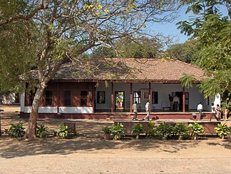 Ashram - Sabarmati Ashram where Mahatma Gandhi stayed.